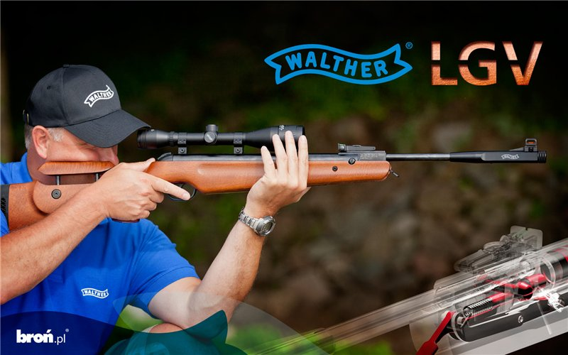 1)Пневматические винтовки премиум-класса Umarex Walther LGV