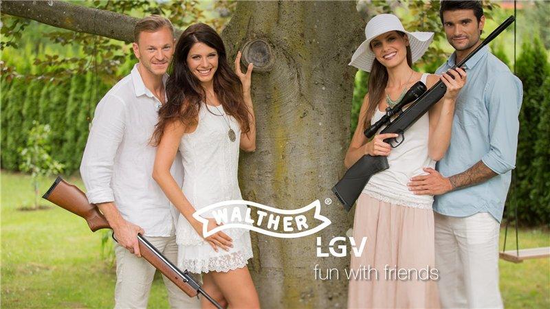 2)Пневматические винтовки премиум-класса Umarex Walther LGV
