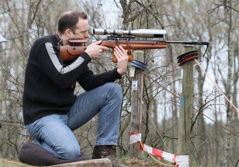 6)Пневматические винтовки премиум-класса Umarex Walther LGV