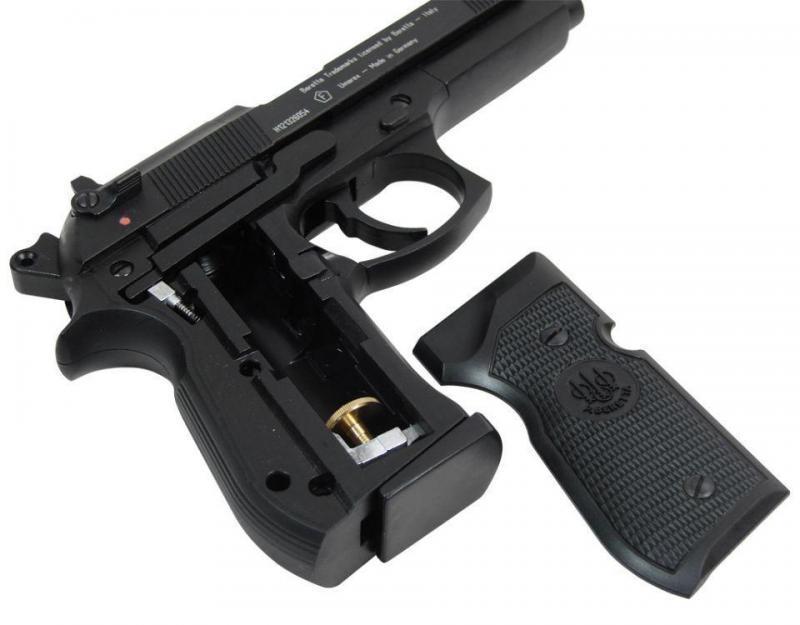 2)Флагманский пистолет Umarex - Beretta 92 FS