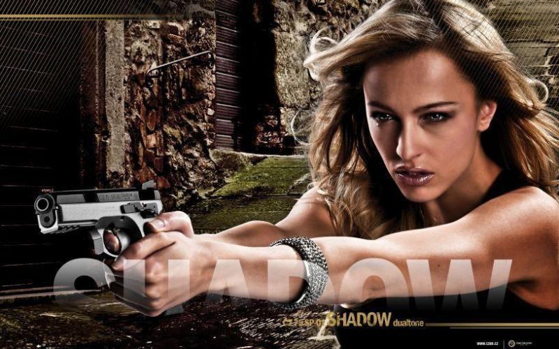 1)Обзор пневматического пистолета ASG CZ SP-01 Shadow 4,5 мм