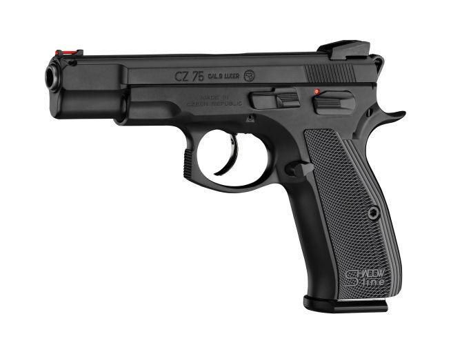 2)Обзор пневматического пистолета ASG CZ SP-01 Shadow 4,5 мм
