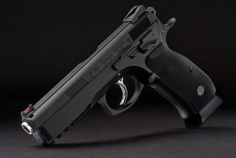 6)Обзор пневматического пистолета ASG CZ SP-01 Shadow 4,5 мм