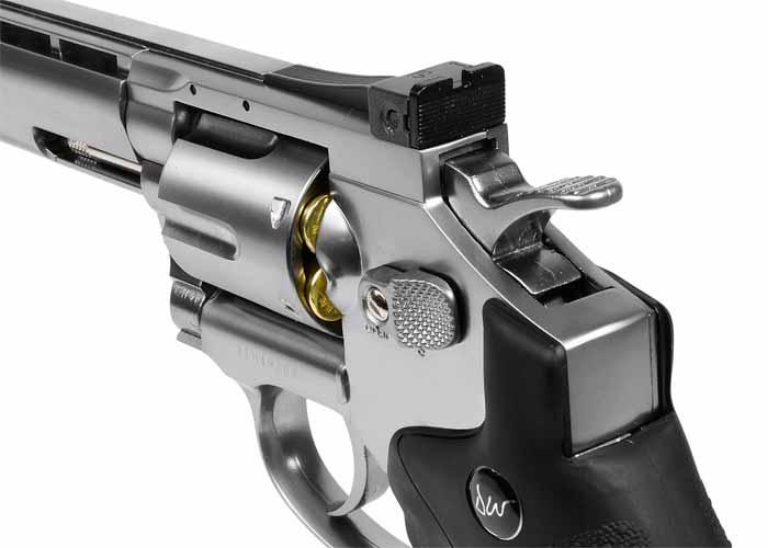 4)Пневматические револьверы ASG Dan Wesson