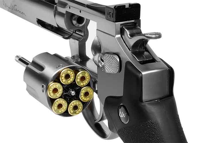 5)Пневматические револьверы ASG Dan Wesson
