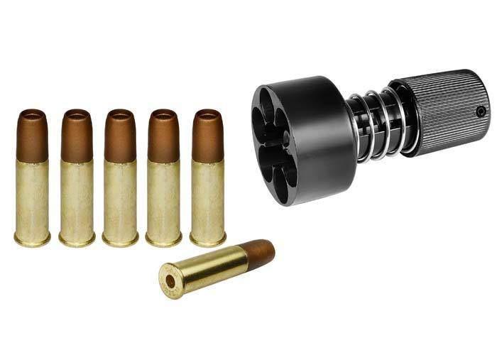 7)Пневматические револьверы ASG Dan Wesson