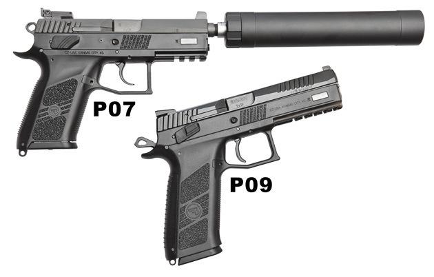 2)Пневматический пистолет ASG CZ P-09 Duty