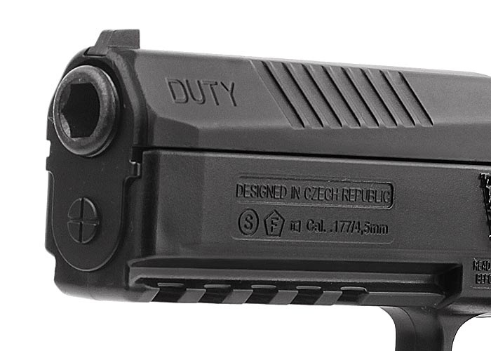 4)Пневматический пистолет ASG CZ P-09 Duty