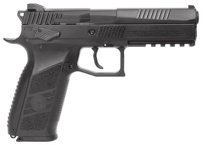 5)Пневматический пистолет ASG CZ P-09 Duty