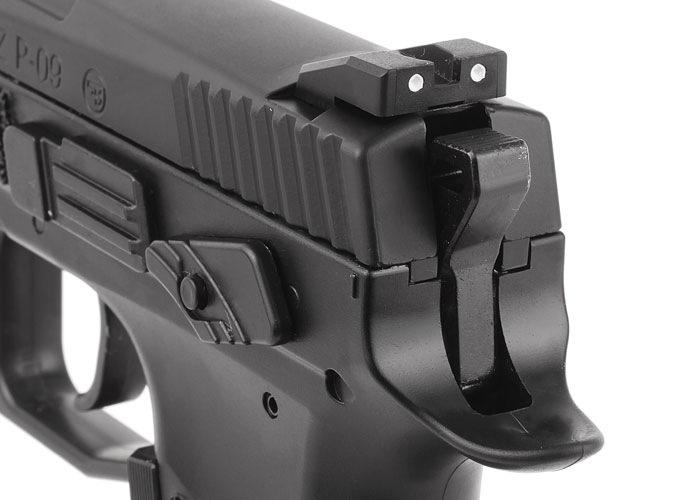 8)Пневматический пистолет ASG CZ P-09 Duty
