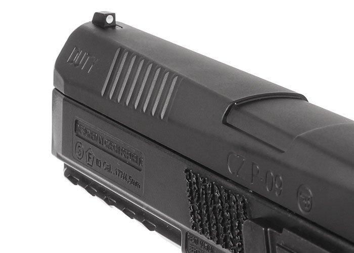 9)Пневматический пистолет ASG CZ P-09 Duty