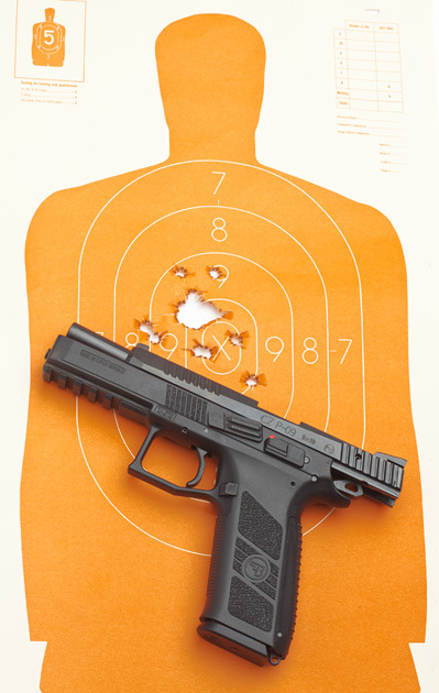10)Пневматический пистолет ASG CZ P-09 Duty